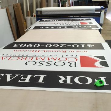 large format signs lamination displays electric signs digital signs