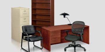Hon desks chairs file cabinets