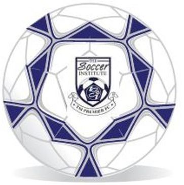 The Soccer Institute logo ball with TSi crest