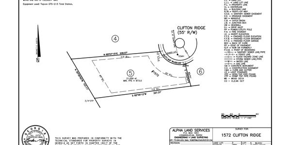 new construction lot in cul-de-sac