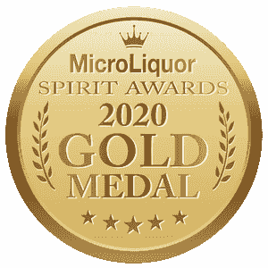 Prestigious Gold Medal from 2020 MicroLiquor Spirits Awards Competition for RHS Coffee Spirit Liquor