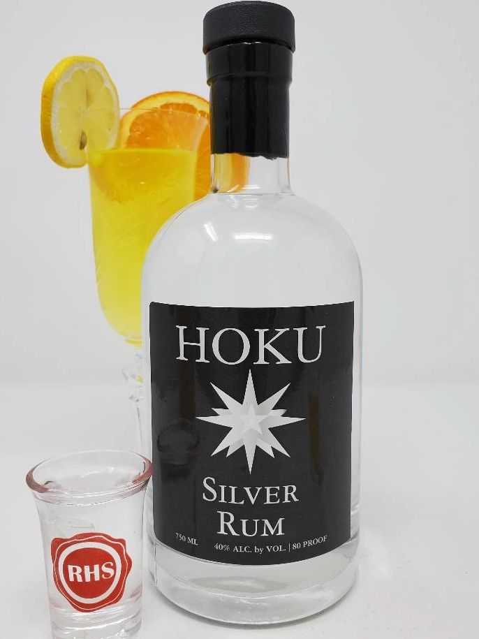 Image of Cocktails and Hoku Silver Rum crafted by RHS Royal Hawaii Spirits Distillery Honolulu