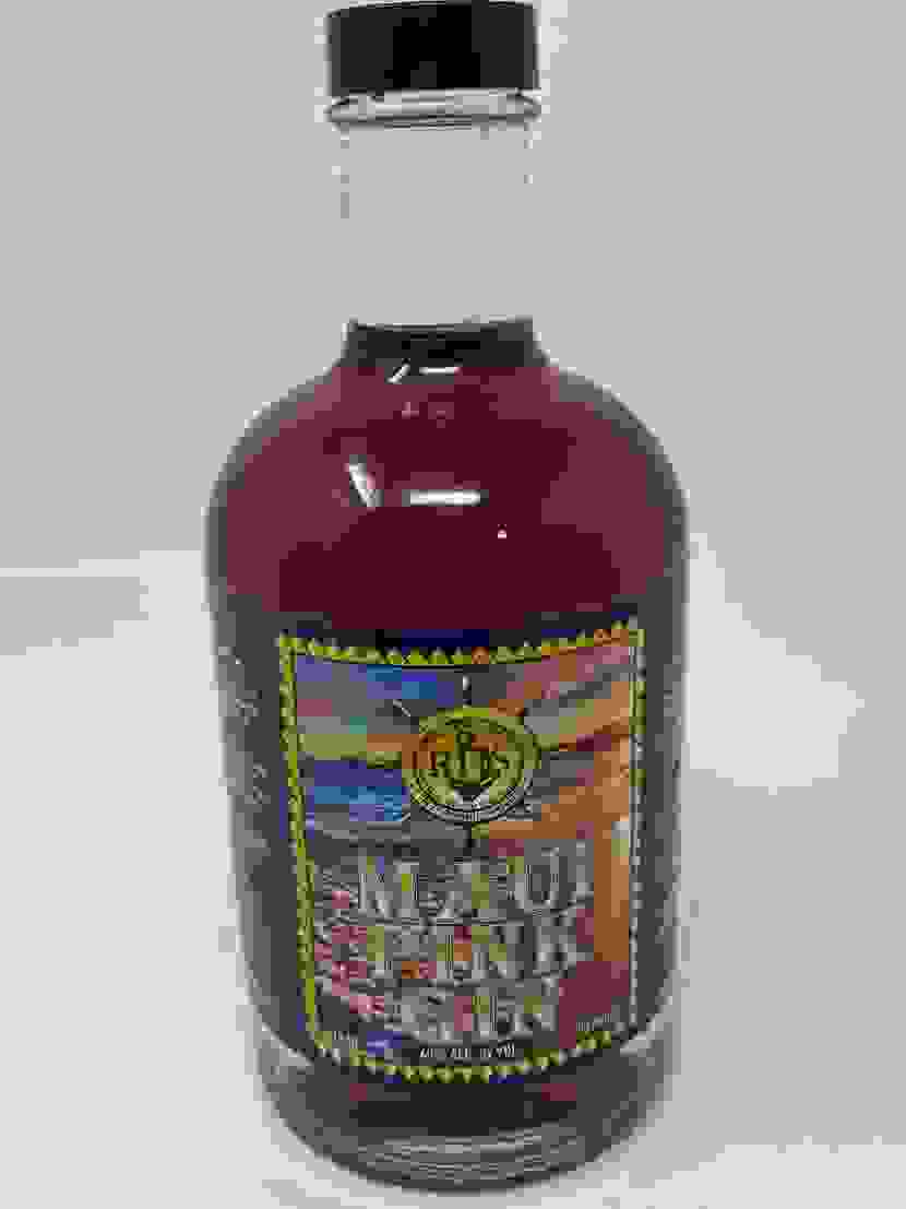 Maui Pink Gin crafted by RHS Royal Hawaii Spirits Distillery Hawaii with Maui Hibiscus,Lavender