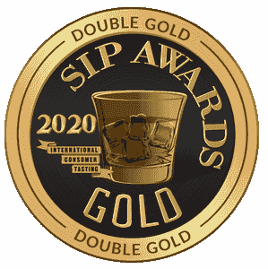 Double Gold SIP AWARDS 2020 for Pineapple Rum Brandy distilled from Hawaii Pineapple  in Oahu Island