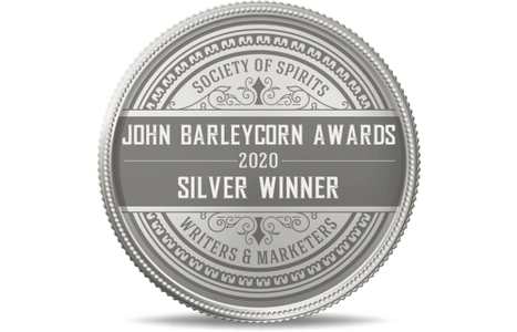 John Barley Corn Silver Medal image awarded to RHS  Distillery Uncle Karl Willy Wonka of Alcohol