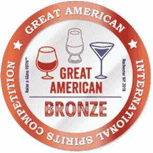 Great American International Spirit Competition Bronze Medal won by Royal Hawaii Spirits Will Wonka