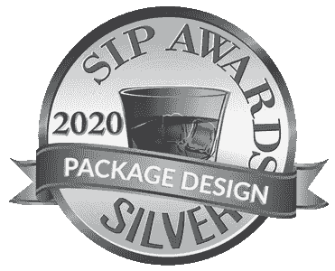 Sip Awards Silver Medal for Aukai Package Design. Rum by Uncle Karl from Royal Hawaii Spirits
