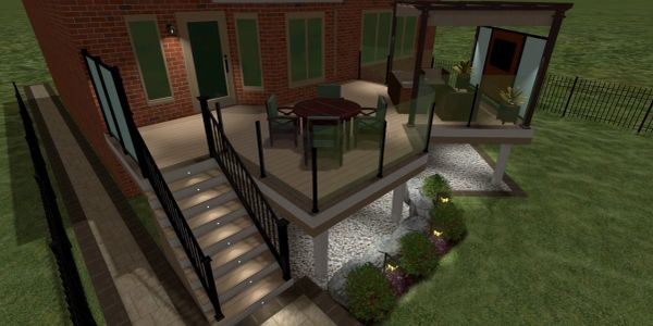 3D deck design services.  Decking permits provided in Oakville, Burlington, Mississauga and Toronto