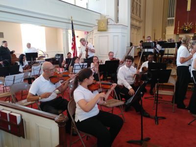 The August Symphony at First Presbyterian Church Westfield