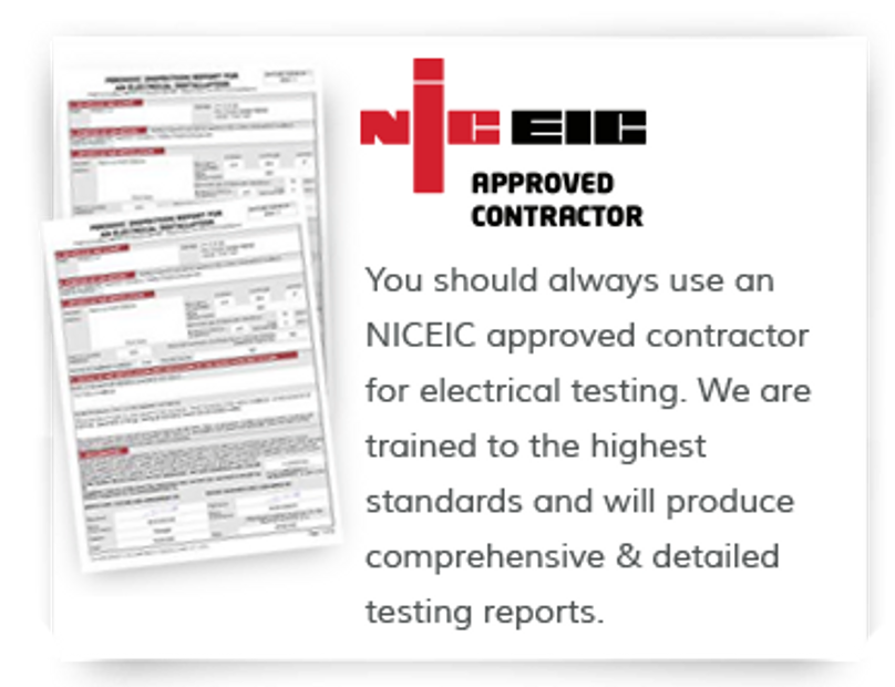 Fully approved Electrical Testing Services.