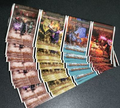 Unofficial Legends of The Secret World bookmarks