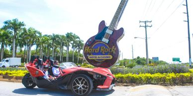 Hotel pickup & drop off - shared A scenic drive to Macao Beach Adventurous Slingshot Driving Experie