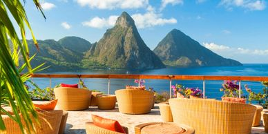 Come to the island and explore the beauty of the lands and the tropical sunshine within - St.Lucia