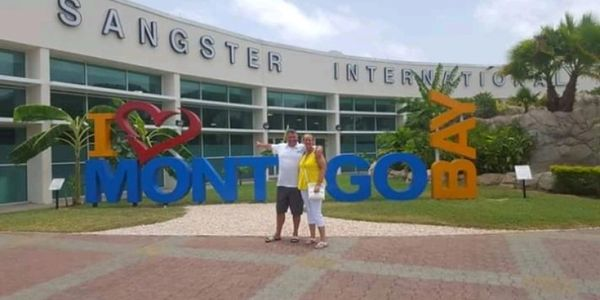 Montego Bay Jamaica. Donald Sangster International Airport MBJ