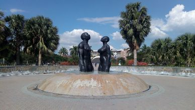 Emancipation Park in New Kingston
