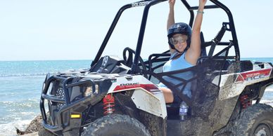 7 Miles white sandy beaches, dream weekend parties and atvs