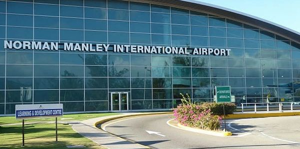 Kingston the Capital City of Jamaica. Norman Manley International Airport KIN