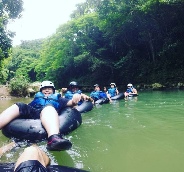 River tubing experience in the Tanamá river is a must do in the island!