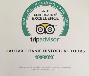 2018 TripAdvisor Hall of Fame Certificate of Excellence