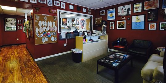Inside of Integrity Tattoo in Royersford, PA