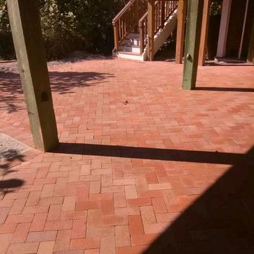 colored pavers