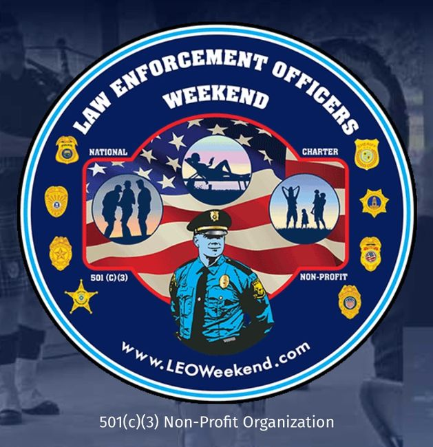 law enforcement officers weekend logo