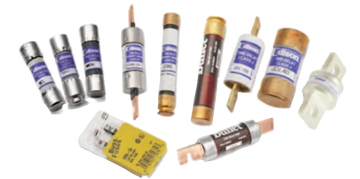 Electrical fusing fuse sizes ratings voltage current max