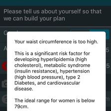 Risk profile for cardiovascular and metabolic disease