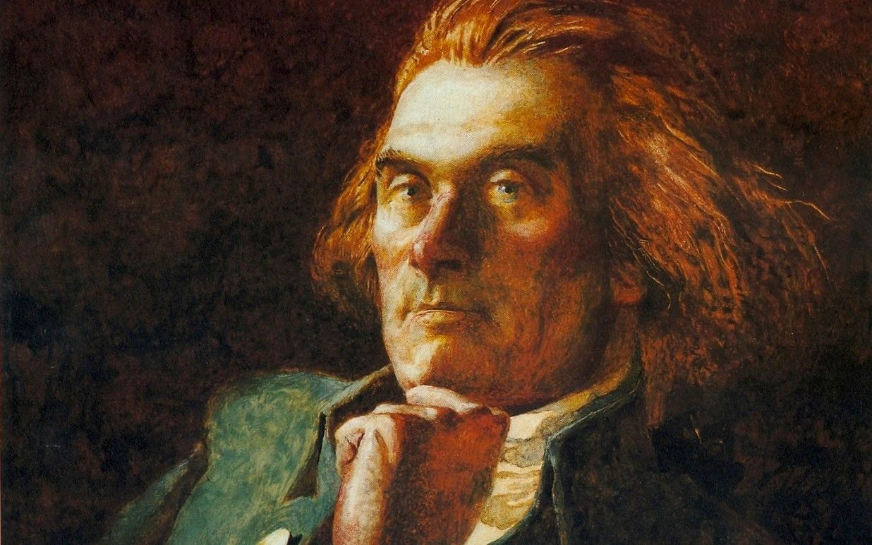 Portrait of Thomas Jefferson by Jamie Wyeth.   Used with permission of the artist. © Jamie Wyeth