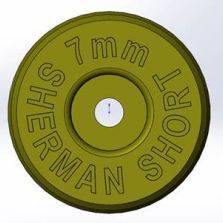 7mm Sherman Short head stamped brass from ADG coming soon