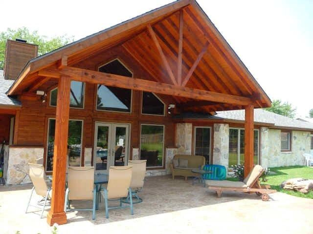 north richland hills cedar patio cover - Patio Covering