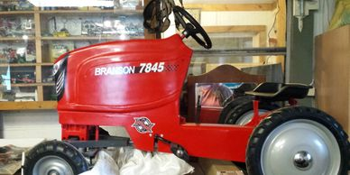 BRANSON PEDAL TRACTOR FOR SALE!  $425
