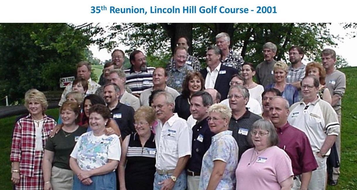 Earlier Reunions | Norwin High School Reunion