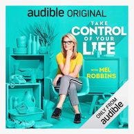 Image of Mel Robbins' book cover, Take Control of Your Life.