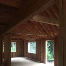interior framing, new home builder, custom new home, new home construction, wood house