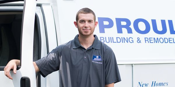Mark Proulx, builder, new home, garage