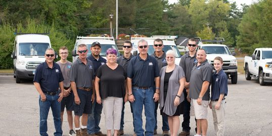 Proulx Building & Remodeling owner, carpenters & office staff