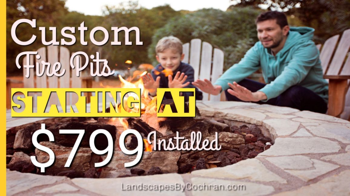 Custom Backyard Fire Pits Starting at $799