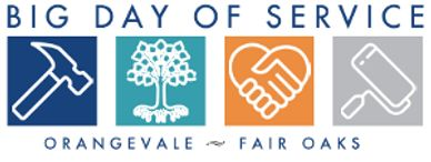 Landscaper with the Big Day Of Service orangevale and fair oaks