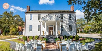 Tops Catering is a preferred caterer at the Isaac Adair house.