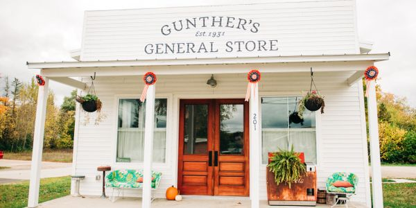 Gunther's General Store, airbnb, rental home