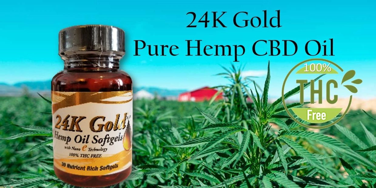 SPX 24k Gold cbd capsules derived from the hemp p