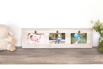 4x6 picture frame clipboard, Triple picture frame clipboard.  Easy to change picture frame.