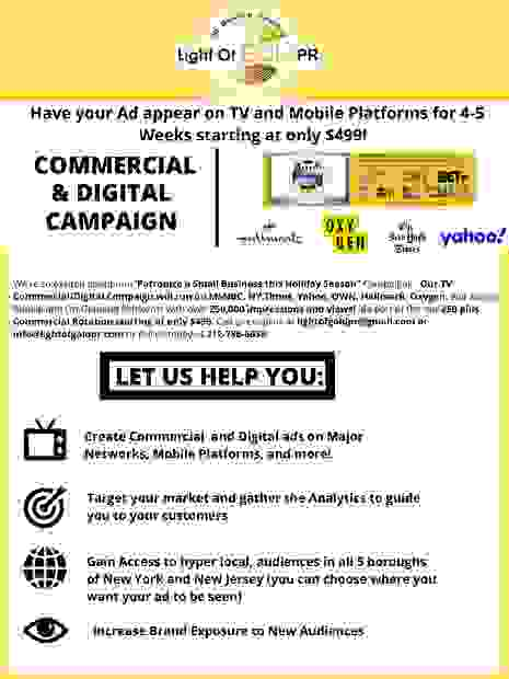 Commercial & Digital TV & Mobile Campaign, Target Your Market, Hyper Local, Increase Brand Exposure
