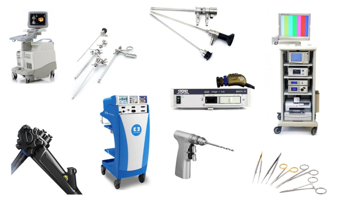 Preowned medical equipment