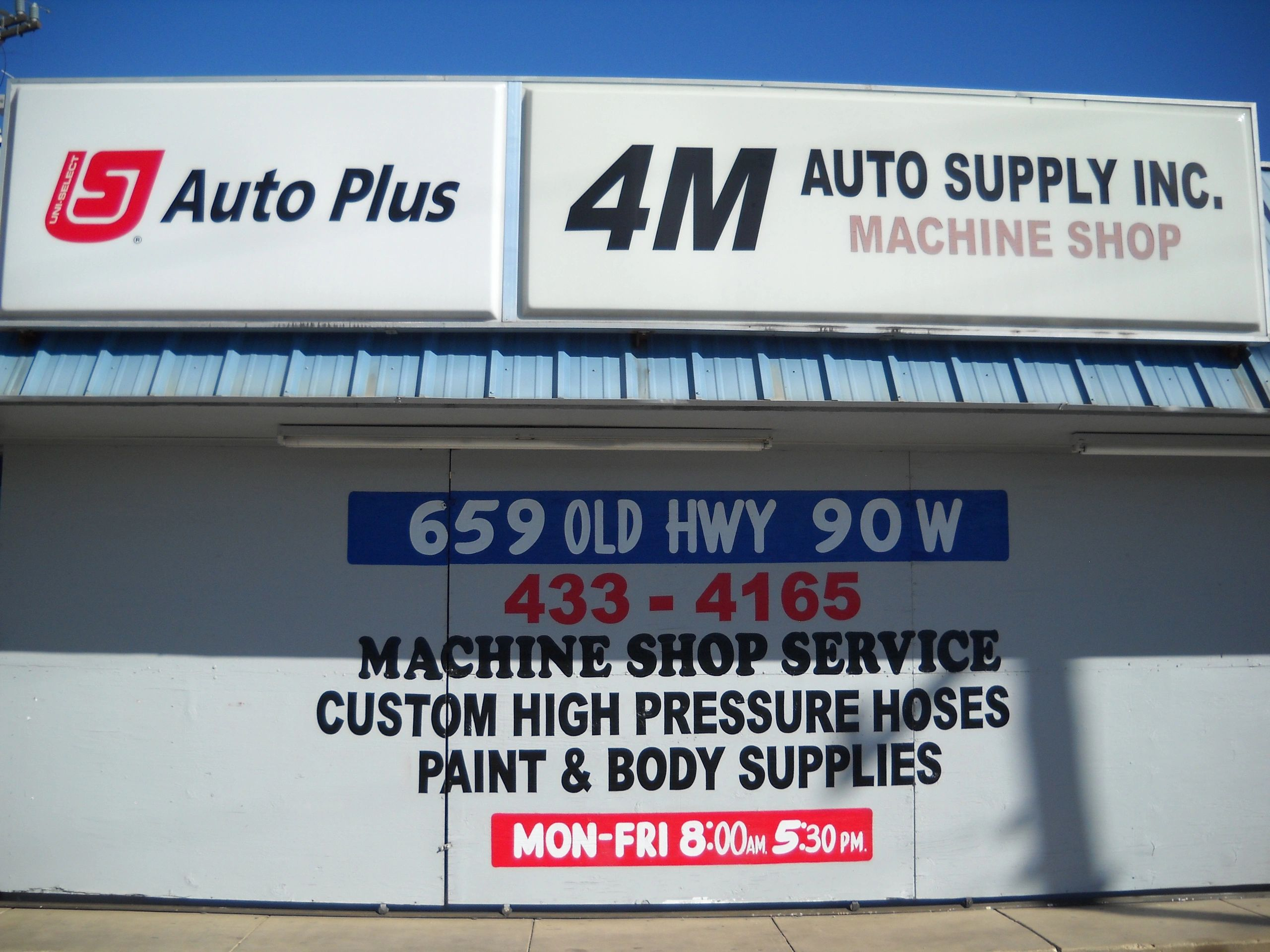 4m Auto Supply Inc