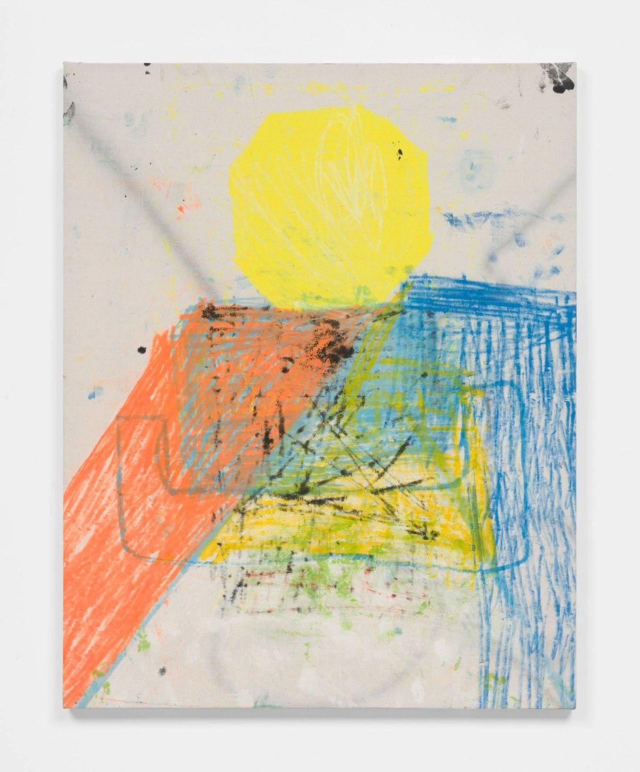 """Untitled Painting #102"" by Habib Farajabadi"