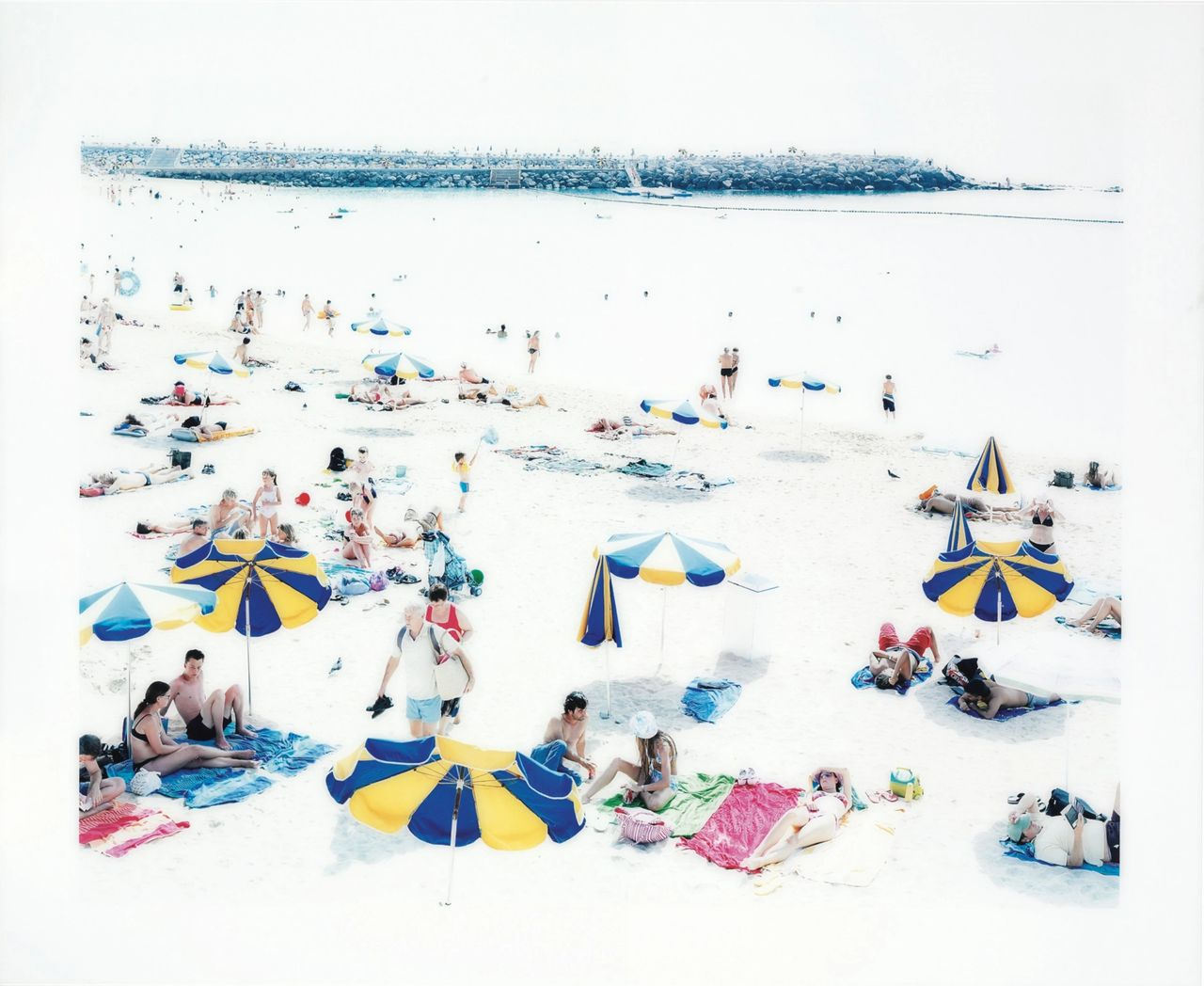 """""""Amadores (triptych)"""" by Massimo Vitali"""