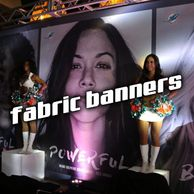 Fabric Banner Backdrop Dye Sublimation Printing Cloth Table Throws Signs Signage Miami