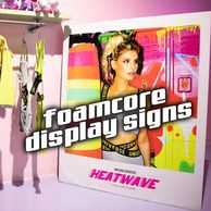 Foamcore Display Directional Signage Signs Event Miami Fort Lauderdale Printing Print Easel